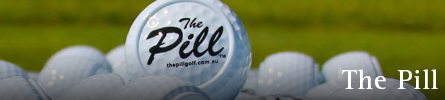 The Pill Golf Training Aid for Putting